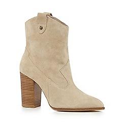 Faith - Cream 'Bali' high ankle boots