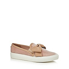 Faith - Pink 'Kris' slip-on trainers