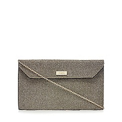 Faith - Silver and gold 'Pringle' purse