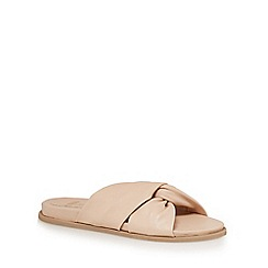 Faith - Light pink 'Julie' slip-on sandals