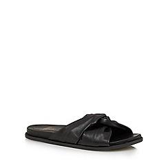 Faith - Black 'Julie' slip-on sandals