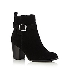 Faith - Black 'Wintana' wide fit high boots