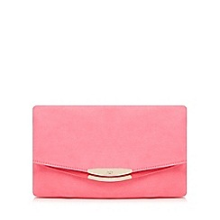 Faith - Pink 'Polly' oversized clutch bag