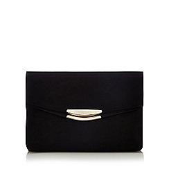 Faith - Black 'Polly' oversized clutch bag