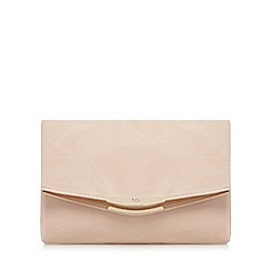 Faith - Natural 'Polly' oversized clutch bag