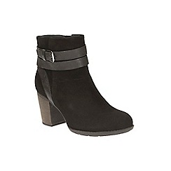 Clarks - Black Enfield River Ankle Boot