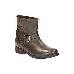 Clarks - Dark Taupe Verlie Bali Ankle boot