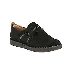 Clarks - Black Suede Un Ava Slip On Shoe