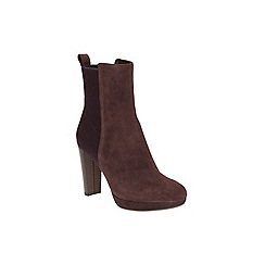 Clarks - Aubergine Kendra Porter Ankle Boot