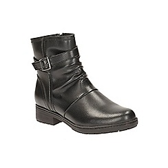 Clarks - Black Synthetic Merrian Kay