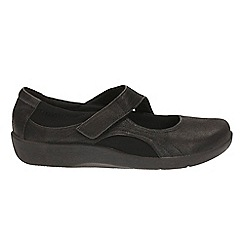 Clarks - Black ' sillian bella ' slip on