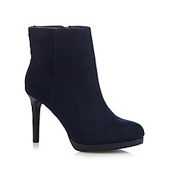 Faith - Navy 'Bailey' high ankle boots