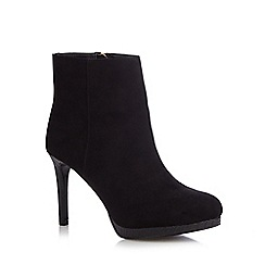Faith - Black 'Bailey' high ankle boots