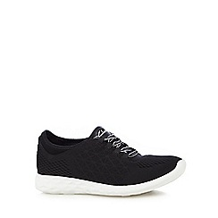 Clarks - Black Synthetic Seremene Aura Lace Up Sports Shoe