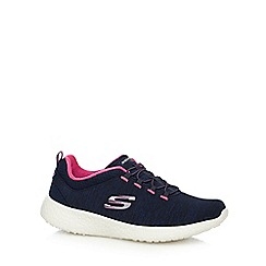 Skechers - Navy 'Burst Equinox' trainers