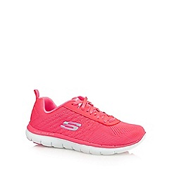 Skechers - Pink 'Flex Appeal 2.0' trainers