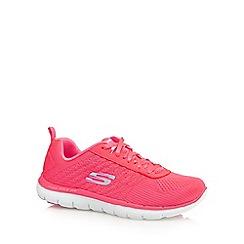Skechers - Pink 'Flex Appeal 2.0' trainers