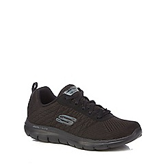 Skechers - Black 'Flex Appeal 2.0' trainers