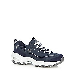 Skechers - Navy 'D'Lites- Me Time' trainers