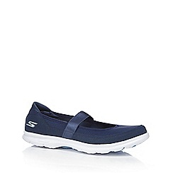 Skechers - Navy 'Go Step Original' slip on trainers