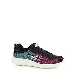Skechers - Pink 'Burst Ellipse' trainers