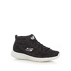 Skechers - Black 'Burst Divergent' high tops