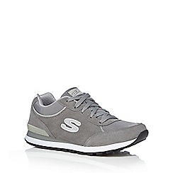 Skechers - Grey 'Retro Classic Kicks' trainers