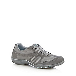 Skechers - Grey 'Jackpot' breathe easy trainers