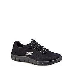 Skechers - Black 'SKX Empire' trainers