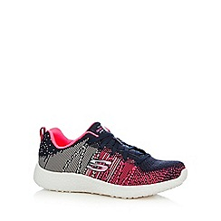 Skechers - Pink 'Burst Ellipse' trainer