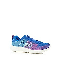 Skechers - Blue and pink 'Burst - Ellipse' trainers