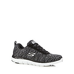 Skechers - Black 'Sport Flex Appeal' trainers