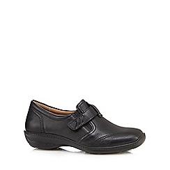Hotter - Black 'Francis' slip on loafers