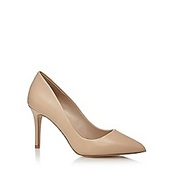 J by Jasper Conran - Natural leather 'Joss' high stiletto heel pointed shoes