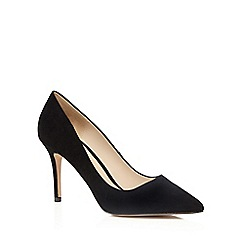 J by Jasper Conran - Black suede 'Joss' high stiletto heel pointed shoes