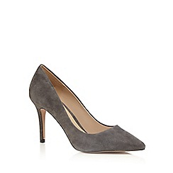 J by Jasper Conran - Grey suede pointed high shoes