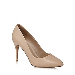 J by Jasper Conran - Light pink leather high court shoes
