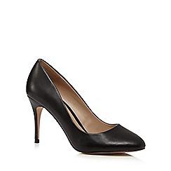 J by Jasper Conran - Black high heel court shoes