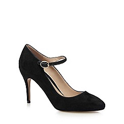 J by Jasper Conran - Black suede high sandals