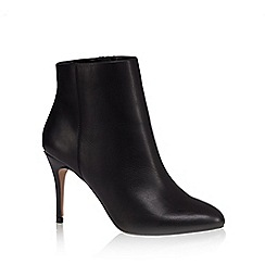 J by Jasper Conran - Black leather high ankle boots