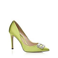 J by Jasper Conran - Green 'Joy' high stiletto heel pointed shoes