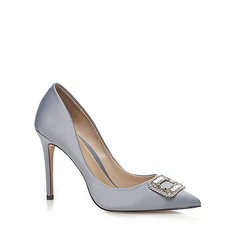 Image result for J by Jasper Conran - Blue 'Joy' high stiletto heel pointed shoes