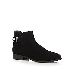 J by Jasper Conran - Black 'Judith' suede ankle boots