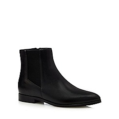 J by Jasper Conran - Black leather Chelsea boots