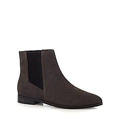 J by Jasper Conran - Grey pointed Chelsea boots