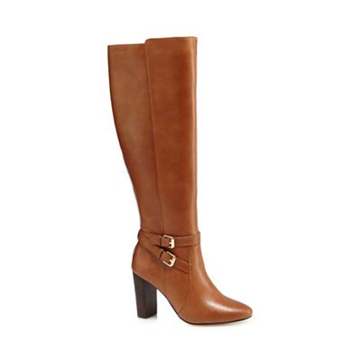j by jasper conran jaxon leather knee high boots
