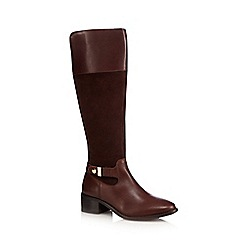 J by Jasper Conran - Brown leather riding boots