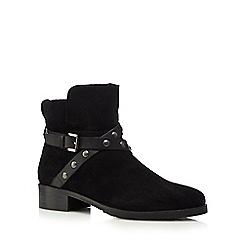 RJR.John Rocha - Black suede strap ankle boots