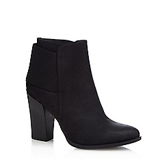 Call It Spring - Black 'Acililla' block heeled ankle boots