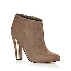 Call It Spring - Taupe 'Lovelarwen' high ankle boots
